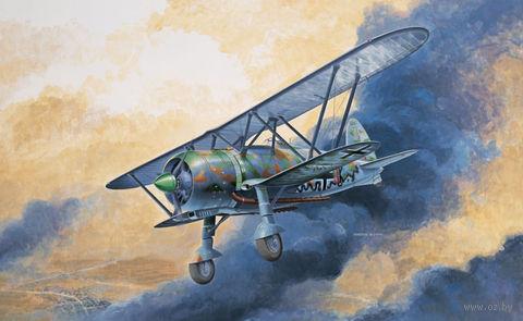 """Истребитель """"C.R. 42 Luftwaffe"""" (масштаб: 1/72) — фото, картинка"""