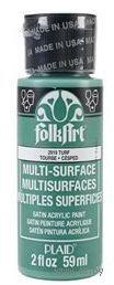"Краска акриловая ""FolkArt Multi-Surface"" (торф, 59 мл; арт. PLD-02919)"