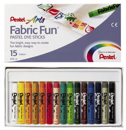 """Пастель для ткани """"FabricFun Pastels"""" (15 цветов)"""