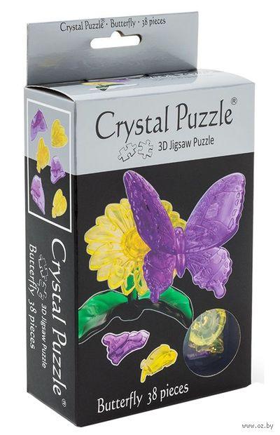 "Пазл-головоломка ""Crystal Puzzle. Бабочка"" (38 элементов)"