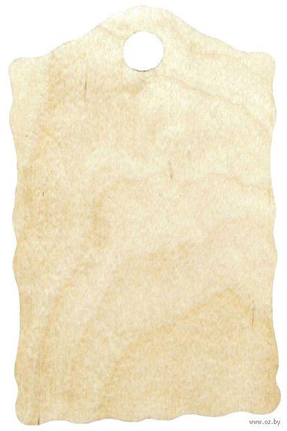 """Заготовка деревянная """"Доска"""" (225х145 мм; арт. L-26) — фото, картинка"""