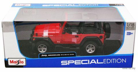 "Модель машины ""Jeep Wrangler Rubicon"" (масштаб: 1/18) — фото, картинка"