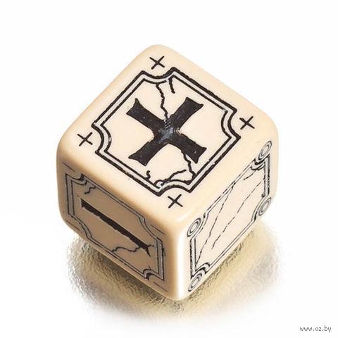 """Набор кубиков """"Ancient Fudge"""" (4 шт.; бежево-черный) — фото, картинка"""