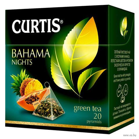 """Чай зеленый """"Curtis. Bahama Nights"""" (20 пакетиков) — фото, картинка"""