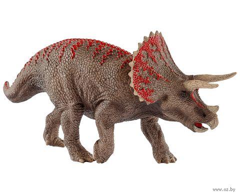 "Фигурка ""Динозавр. Трицератопс"" (9,8 см) — фото, картинка"