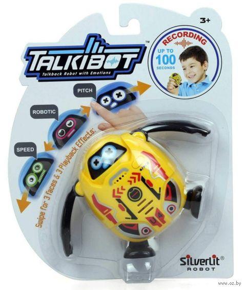 """Интерактивная игрушка """"Talkibot"""" (жёлтый; со световыми эффектами) — фото, картинка"""