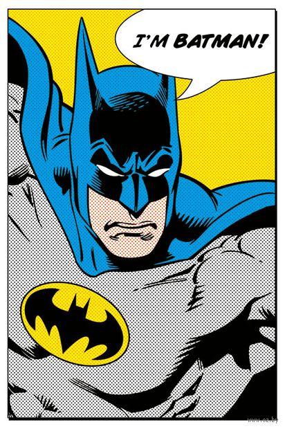 "Постер ""DC. I'm Batman"" — фото, картинка"