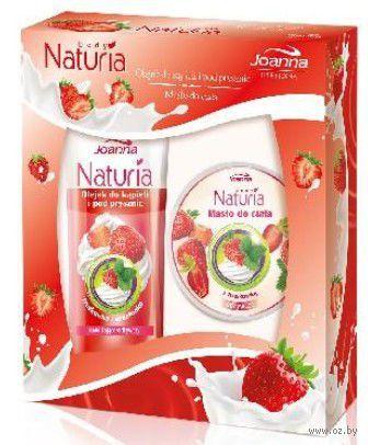 """Подарочный набор """"Naturia Body"""" (гель для душа, масло)"""