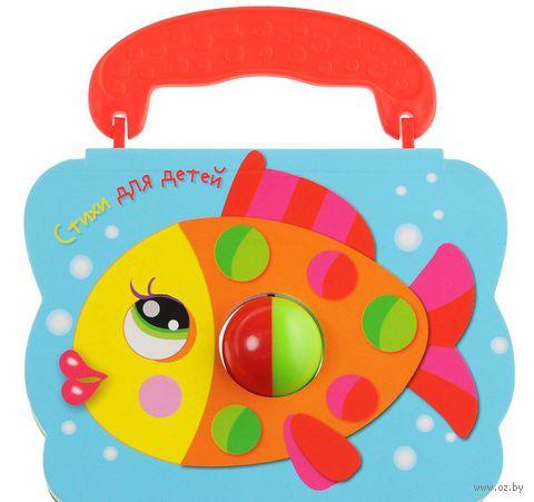 Стихи для детей. Рыбка. Книжка с погремушкой — фото, картинка