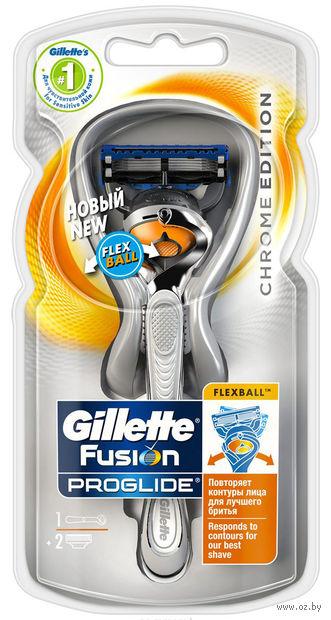 """Станок для бритья """"Fusion. Proglide FlexBal""""l (+2 кассеты)"""