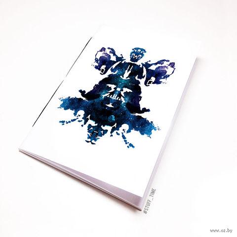"""Блокнот """"Дарт Вейдер"""" (А5; арт. 131) — фото, картинка"""