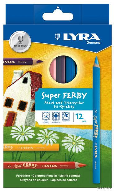 "Цветные карандаши ""SUPERFERBY"" (12 цветов)"