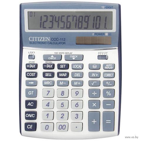 Калькулятор настольный CCC-112 (12 разрядов)