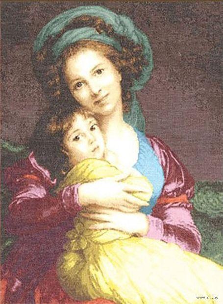 """Вышивка крестом """"Материнская любовь"""" (490x360 мм) — фото, картинка"""