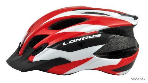 """Шлем велосипедный """"Erturia"""" (красный; р. L-XL) — фото, картинка"""