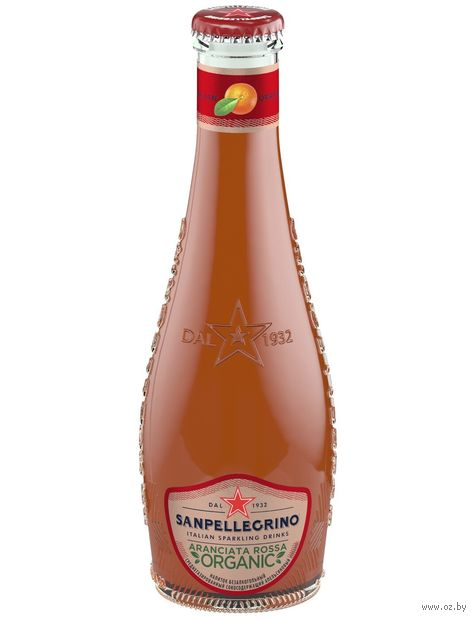 """Напиток газированный """"S. Pellegrino. Красный апельсин"""" (200 мл) — фото, картинка"""
