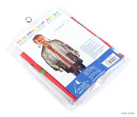 Плащ-накидка от дождя детская (пластик, прозрачный)