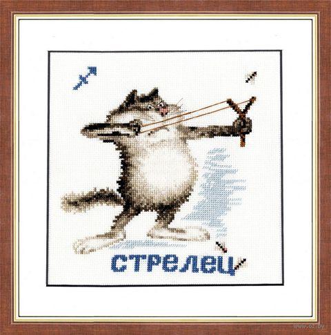 """Вышивка крестом """"Стрелец"""" (арт. ВЛ-009)"""