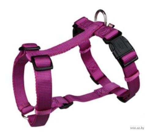 "Шлея для собак ""Premium H-harness"" (размер M-L, 50-75 см, малиновый, арт. 20348)"