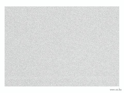 """Фольга для декорирования ткани """"Серый"""" (90х160 мм)"""