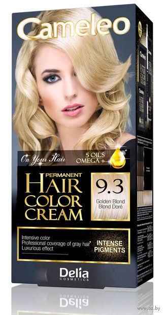 """Крем-краска для волос """"Cameleo"""" (тон: 9.3, золотистый блондин) — фото, картинка"""