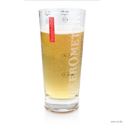 """Бокал стеклянный """"BeerOmetr"""""""