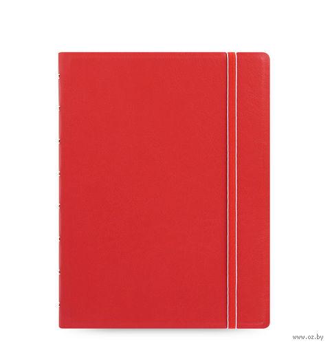 """Записная книжка Filofax """"Notebook Classic"""" (A5; red)"""