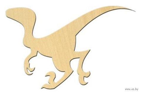 """Заготовка деревянная """"Динозавр №7"""" (99х63 мм)"""