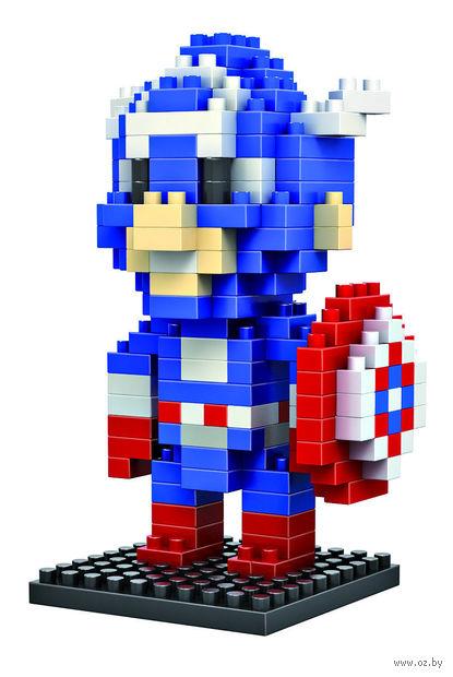 "Конструктор ""Капитан Америка"" (190 деталей) — фото, картинка"