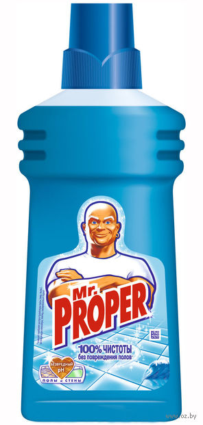 """Жидкость для уборки Mr.Proper """"Океанская свежесть"""" (500 мл)"""