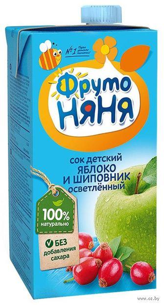 """Сок детский ФрутоНяня """"Яблоко и шиповник"""" (500 мл) — фото, картинка"""