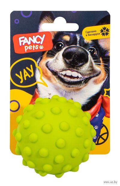 """Игрушка для собак """"Мячик ёжик"""" (8,5 см) — фото, картинка"""