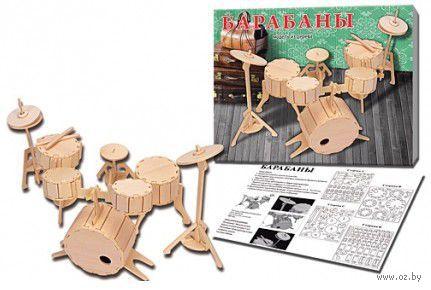 """Сборная модель из дерева """"Барабаны"""" — фото, картинка"""