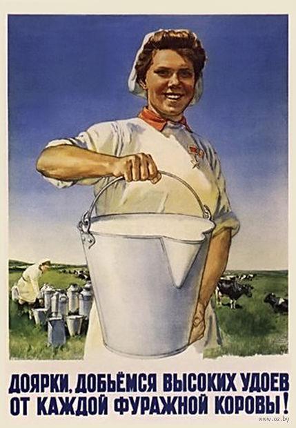 """Магнит сувенирный """"Советские плакаты"""" (арт. 1007)"""
