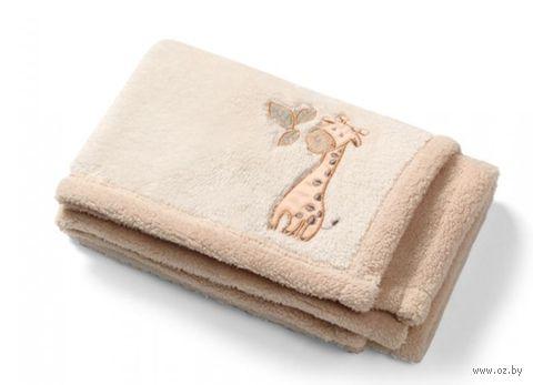 """Одеяло детское из микрофибры """"Жирафик"""""""