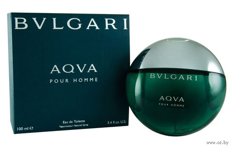 "Туалетная вода для мужчин Bvlgari ""Aqva"" (100 мл)"