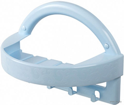 Полка универсальная (274х140х195 мм; светло-голубой) — фото, картинка