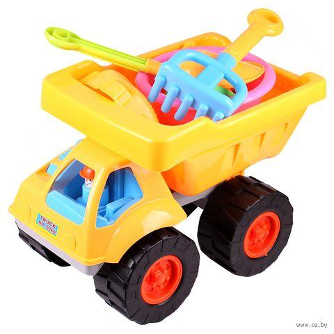 """Набор для игры в песочнице """"Машинка"""" (арт. DV-T-1237) — фото, картинка"""