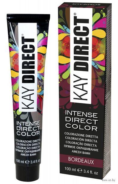 "Краситель для волос ""Прямого действия. Kay Direct"" тон: бордо — фото, картинка"