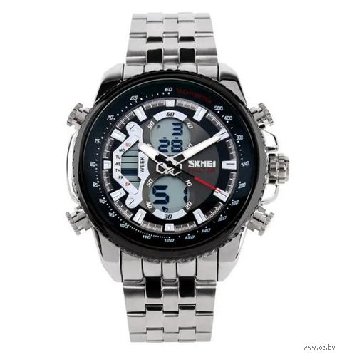 Часы наручные (чёрные; арт. AD0993) — фото, картинка