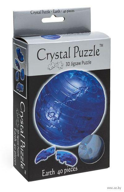 """Пазл-головоломка """"Crystal Puzzle. Планета Земля"""" (40 элементов)"""