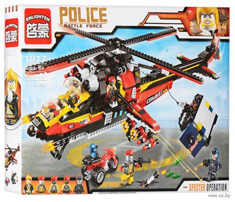 """Конструктор """"Police. Вооруженное столкновение"""" (654 детали) — фото, картинка"""