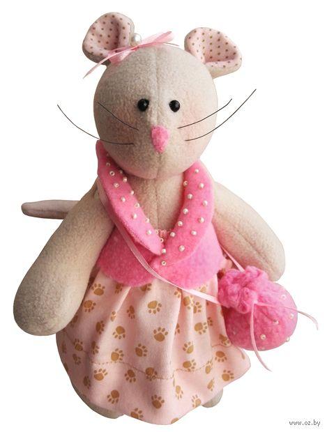 """Набор для шитья из ткани """"Маленькая леди"""" — фото, картинка"""