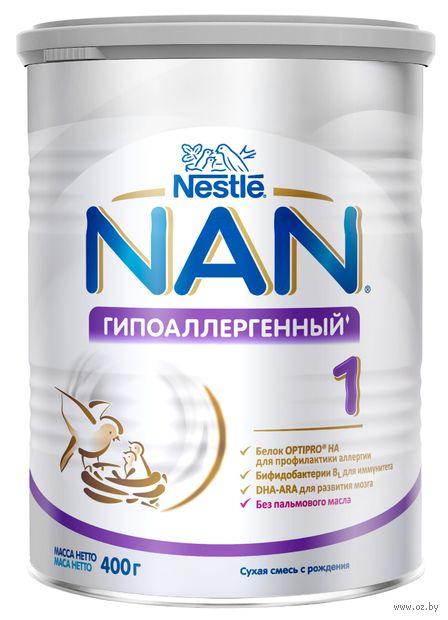 """Сухая смесь NAN OPTIPRO 1 HA """"Гипоаллергенный"""" (400 г) — фото, картинка"""
