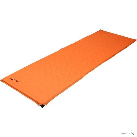"Коврик самонадувающийся ""Maxi Camp 6.4"" (оранжевый) — фото, картинка"