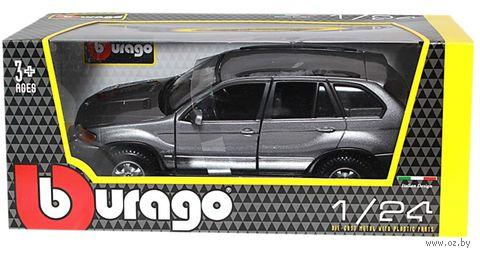 """Модель машины """"Bburago. BMW X5"""" (масштаб: 1/24)"""