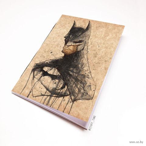 """Блокнот крафт """"Бэтмен"""" А6 (699)"""
