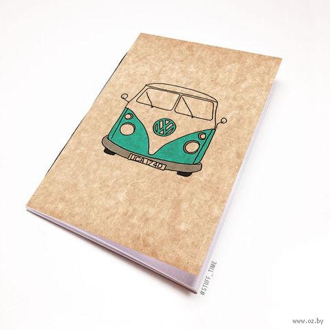 """Блокнот крафт """"Volkswagen"""" А5 (721)"""