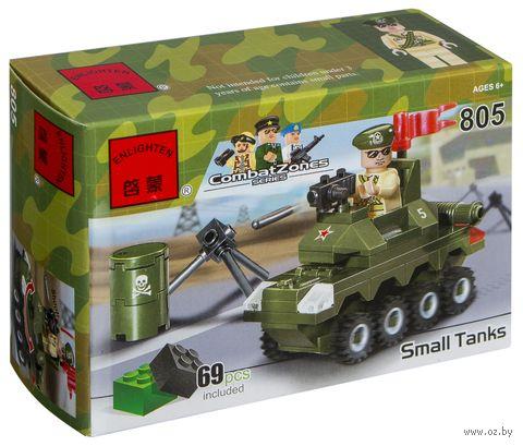 """Конструктор """"Combat Zones. БТР"""" (69 деталей) — фото, картинка"""