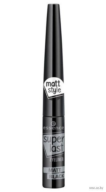 """Подводка для глаз """"Superlast Eyeliner. Matt Black"""" (тон: черный) — фото, картинка"""